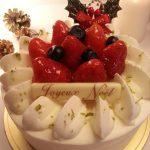 「セ・ミニョン」のクリスマスケーキ
