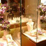 紫陽花ディスプレイ